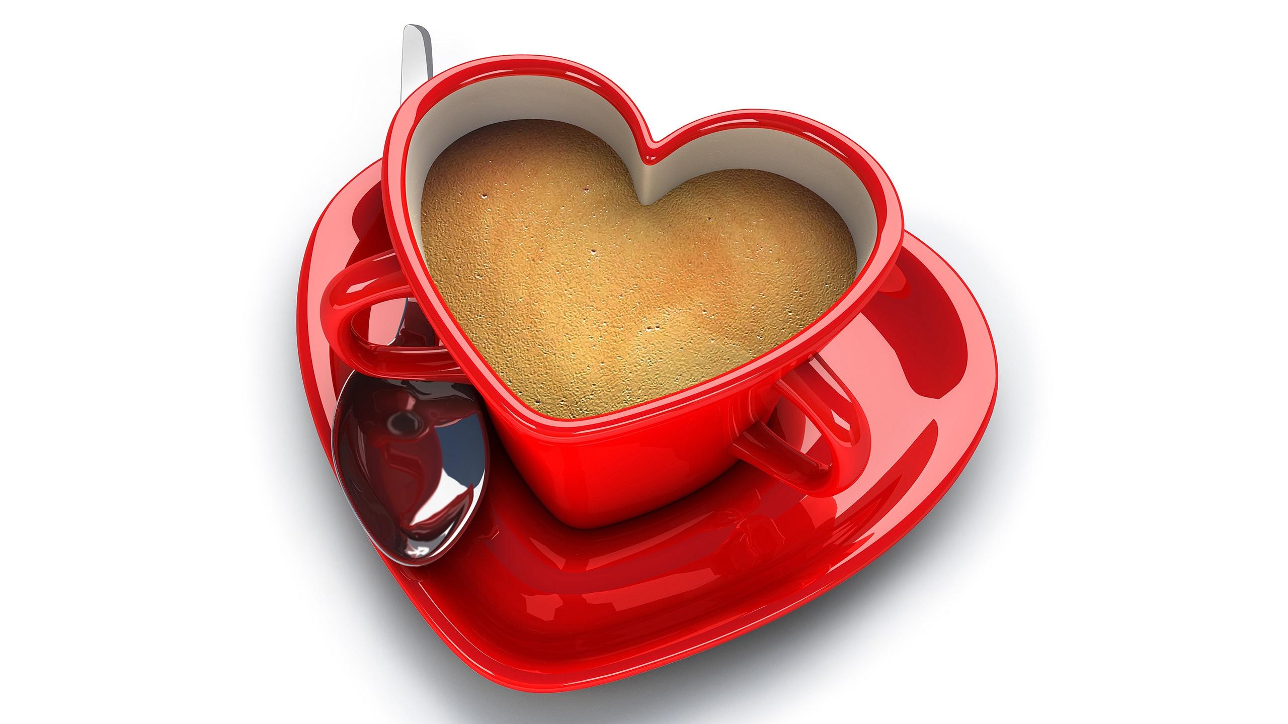 heart wallpapers coffee