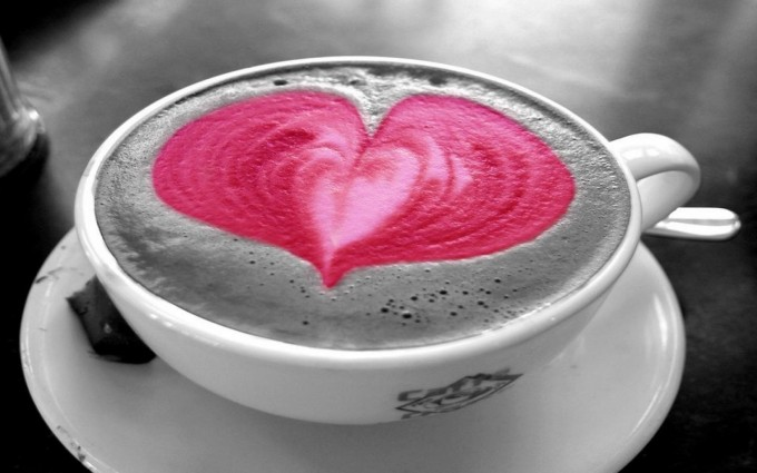 heart wallpapers cup