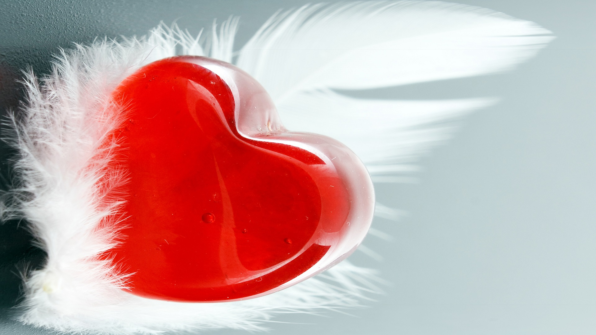 cute red valentines day heart