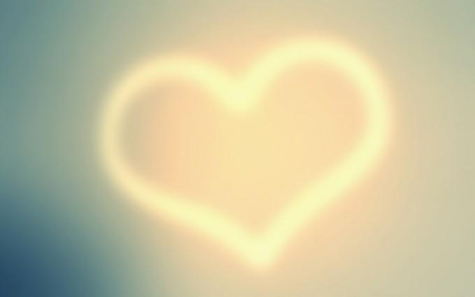 heart wallpapers light