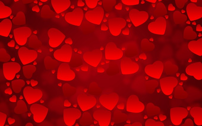 heart wallpapers red background