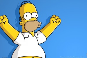homer simpson wallpaper