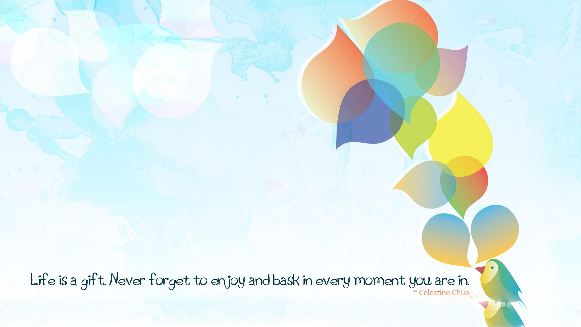 motivational wallpaper enjoy aa