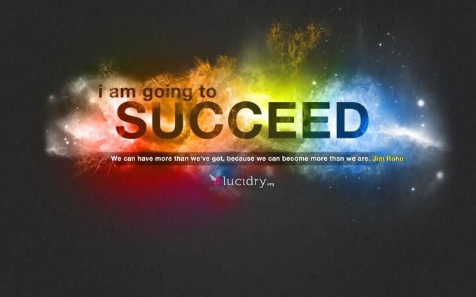 motivational wallpaper succeed