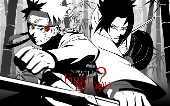 A1 Naruto Uzumaki anime Sasuke Uchiha HD Desktop background wallpapers downloads