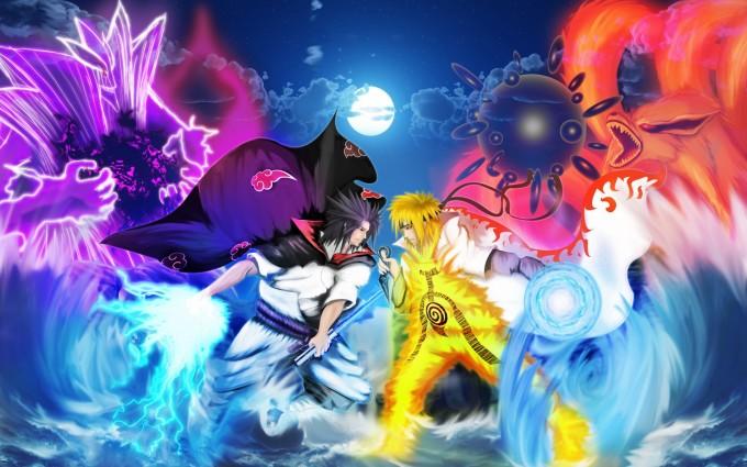 A24 Naruto Uzumaki anime Sasuke Uchiha HD Desktop background wallpapers downloads