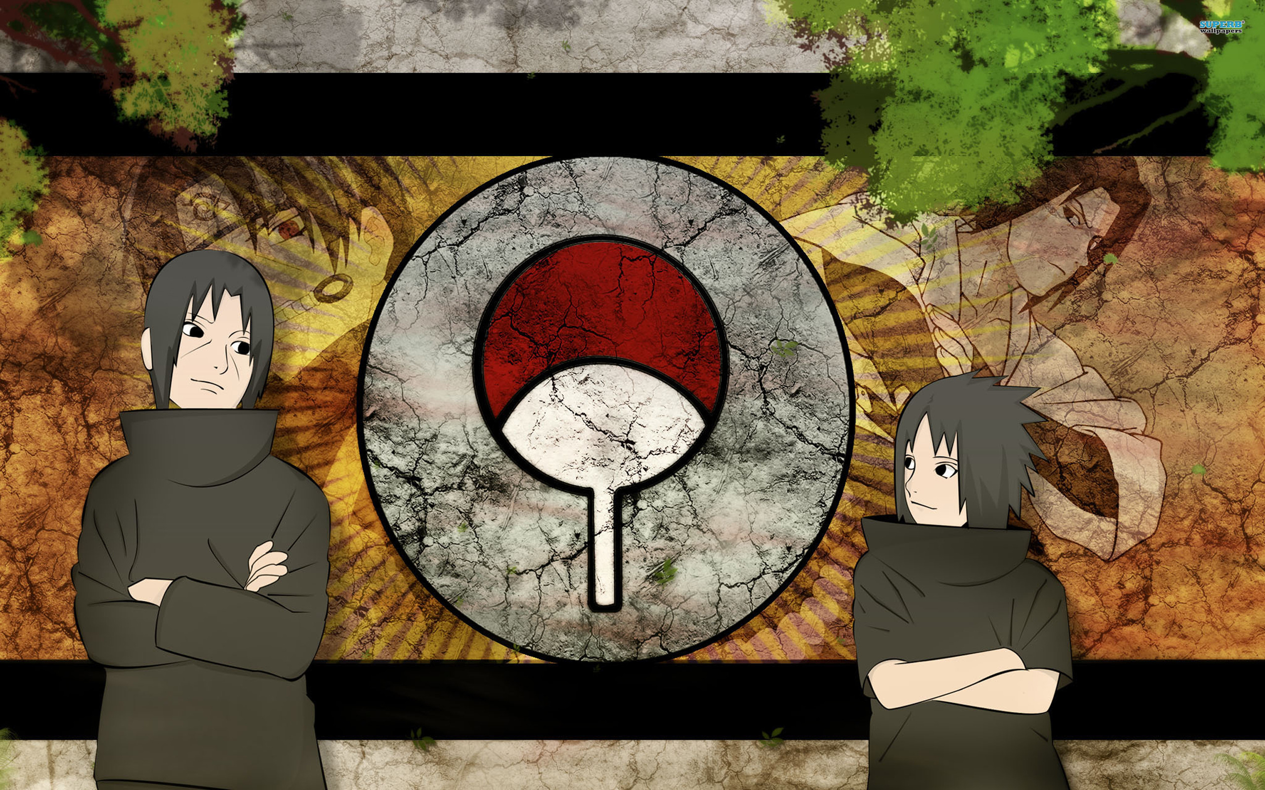 A45 Naruto -itachi-uchiha-sasuke-uchiha anime HD Desktop background images pictures wallpapers downloads