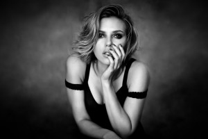 scarlett johansson wallpapers HD black top dress