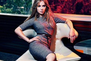scarlett johansson wallpapers HD stylish grey