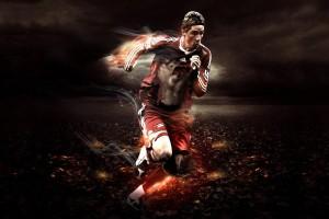 soccer player HD wallpaper