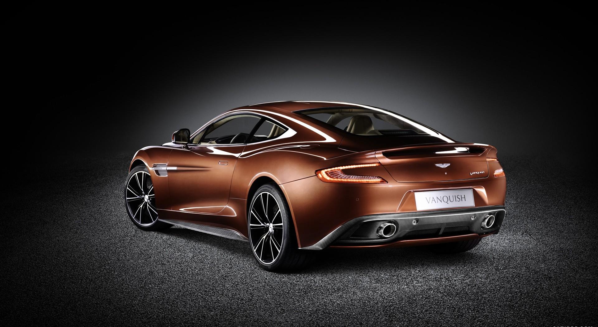 Aston Martin Vanquish pictures A2