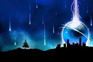 abstract wallpapers hd blue  city