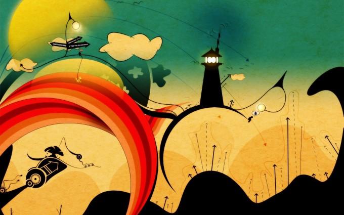 abstract wallpapers hd wonderland
