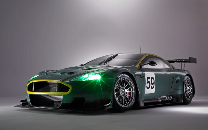 astin martin db9 wallpaper racing