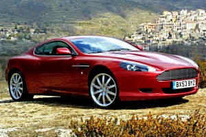 astin martin db9 wallpaper red cool