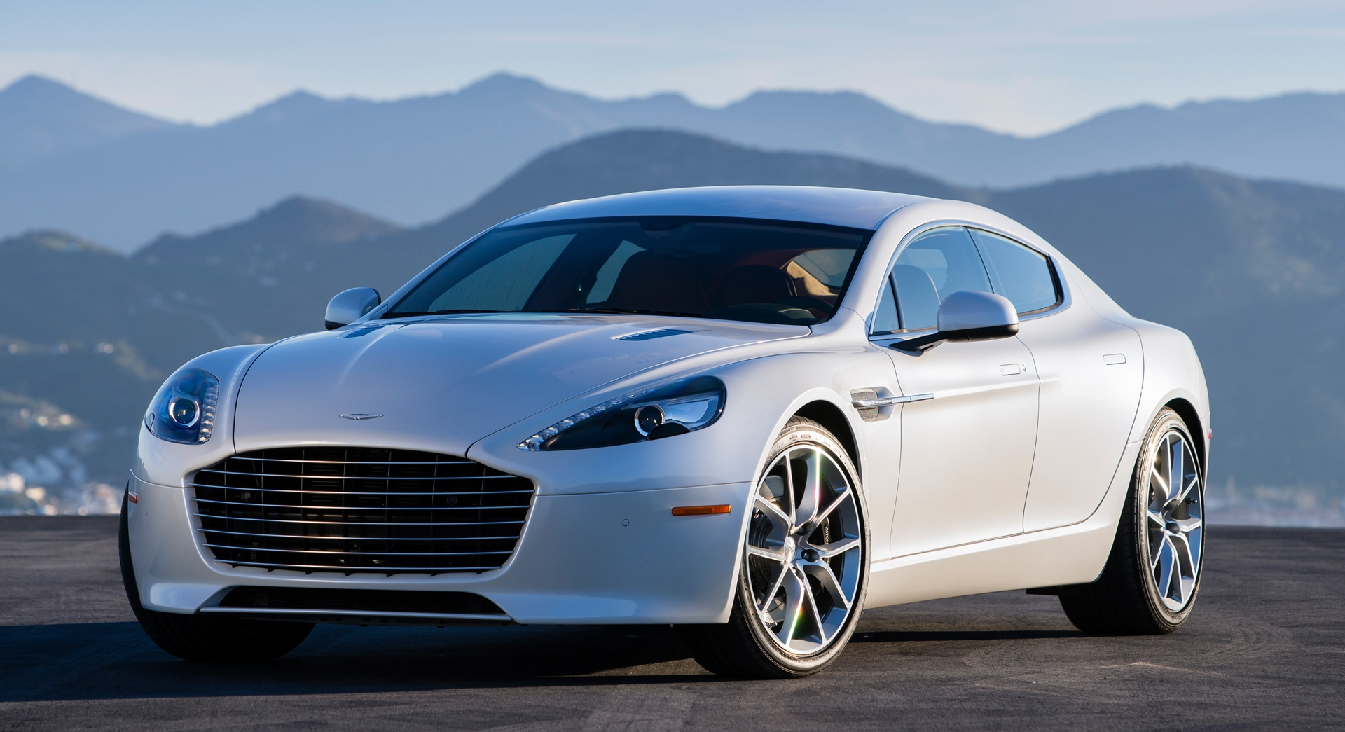 aston martin rapide white cool