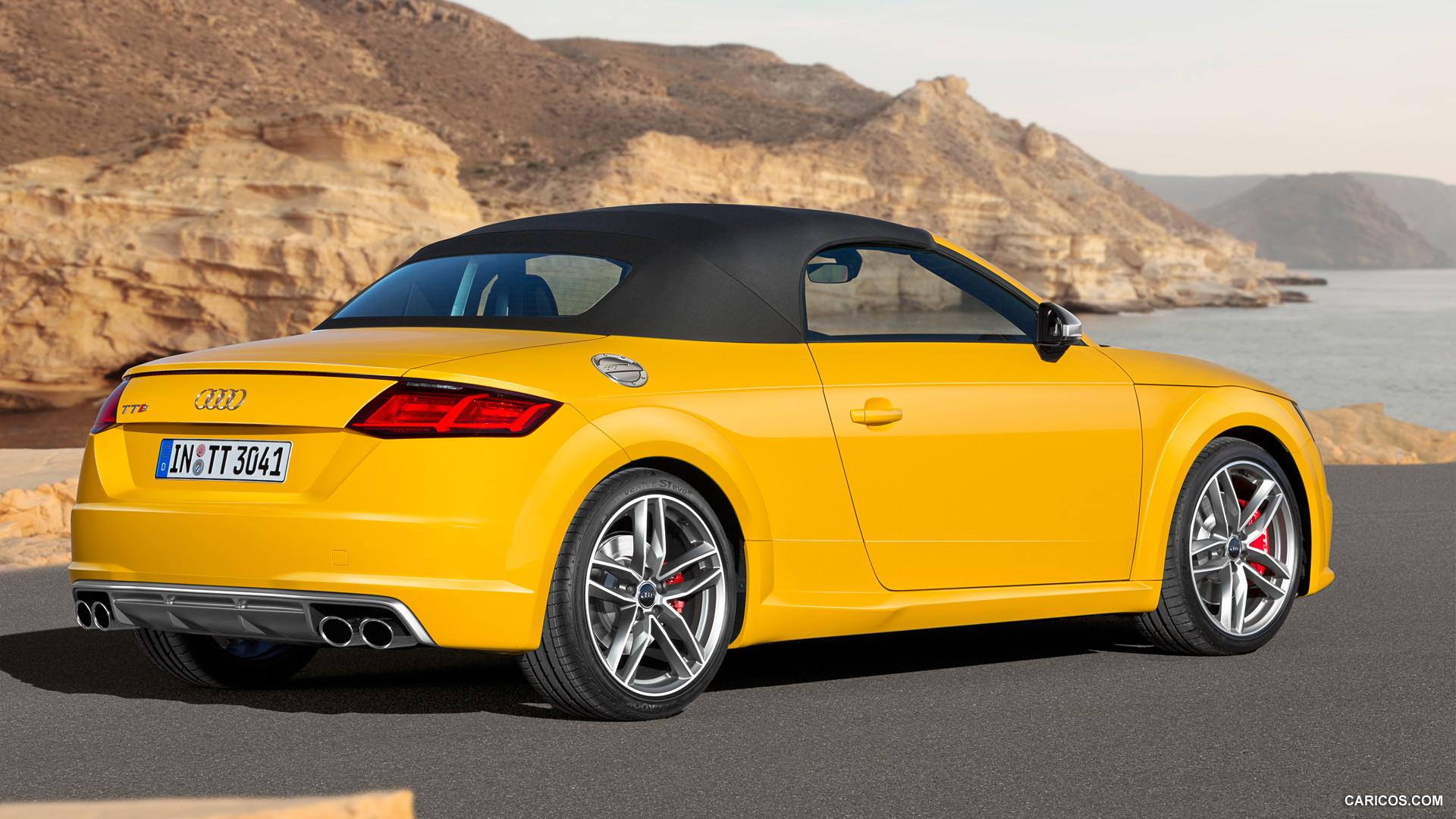 audi tt roadster yellow pc