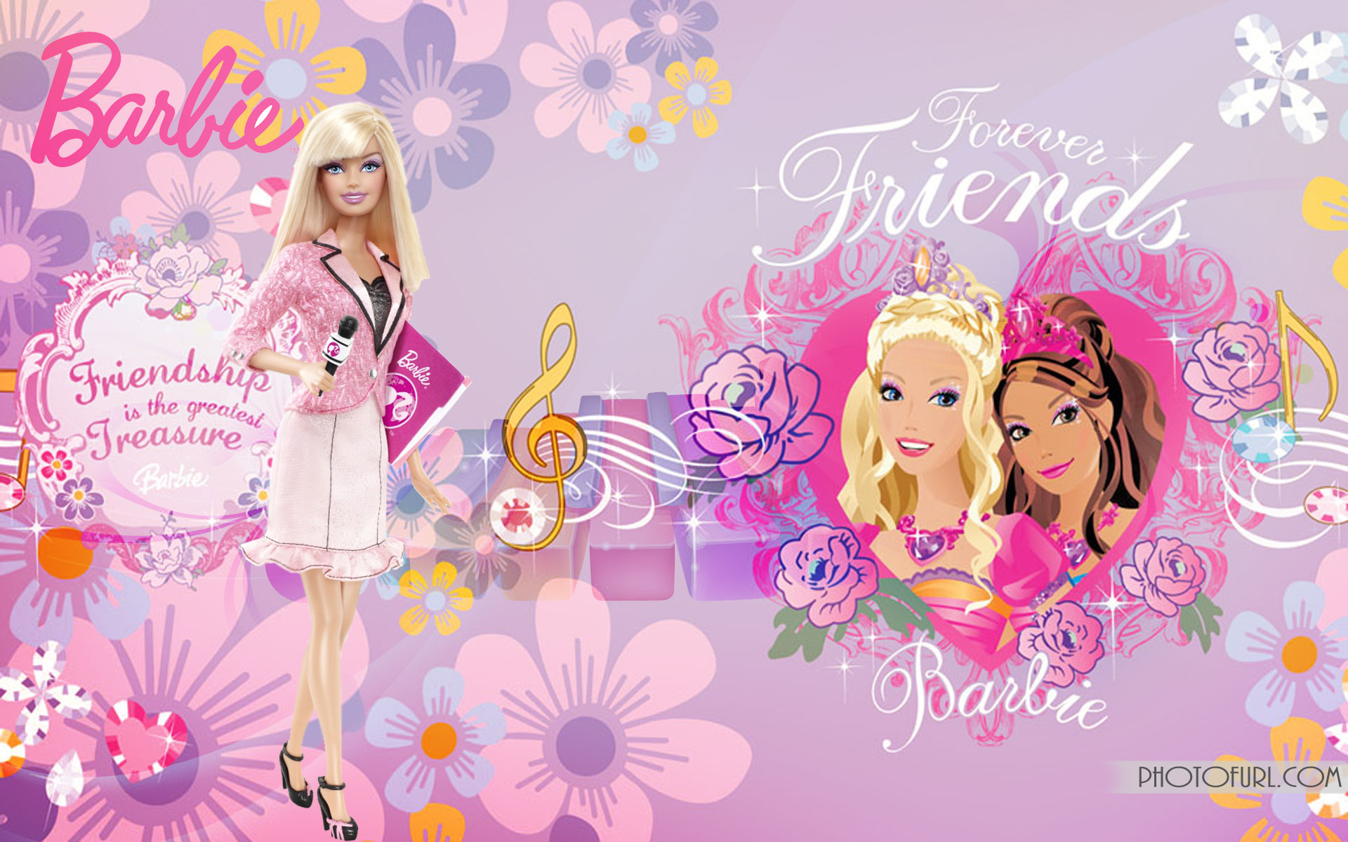 barbie wallpaper anchor