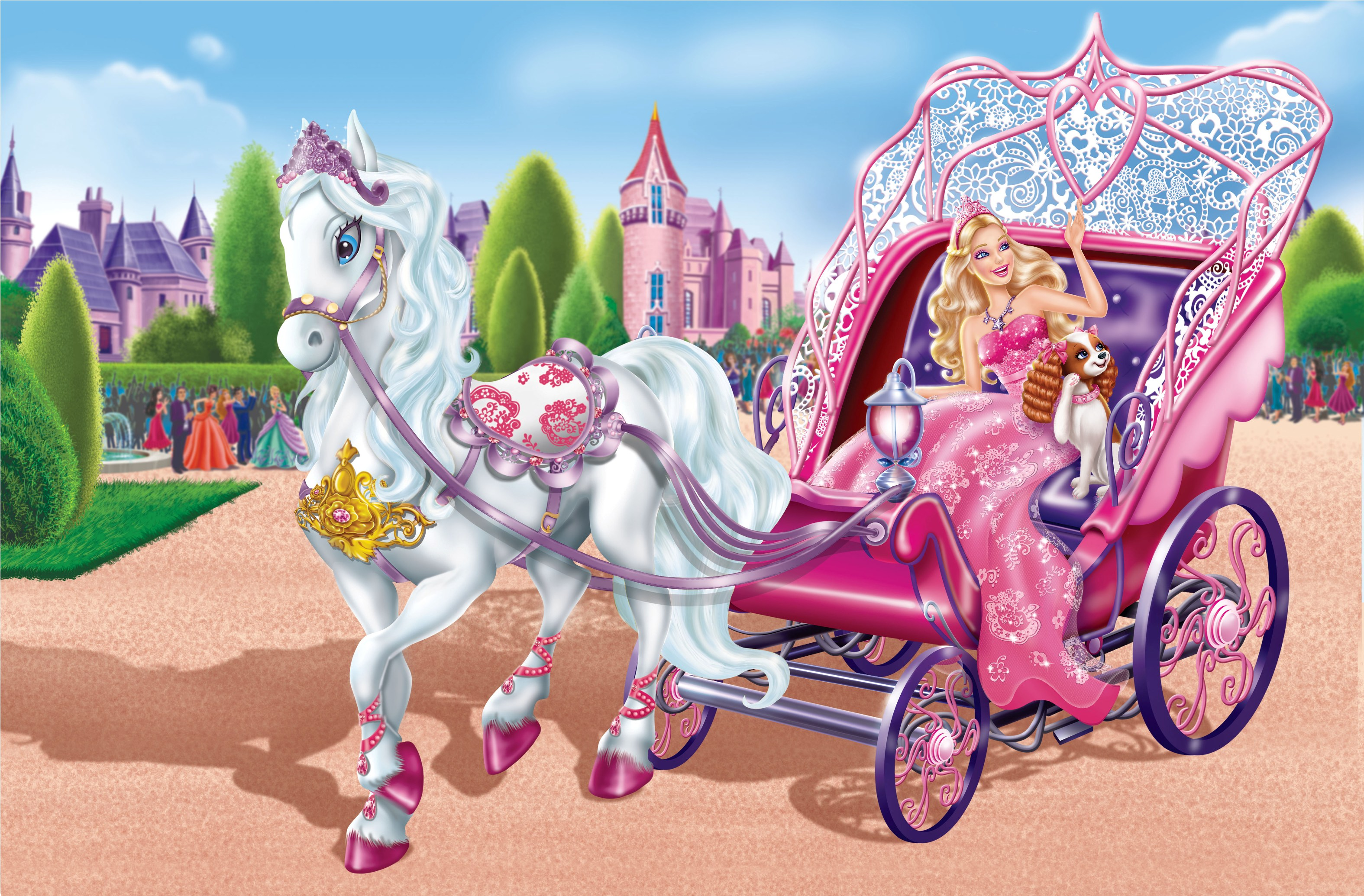 barbie wallpaper horse