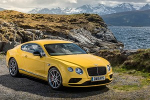 bentley continental gt v8 yellow hd