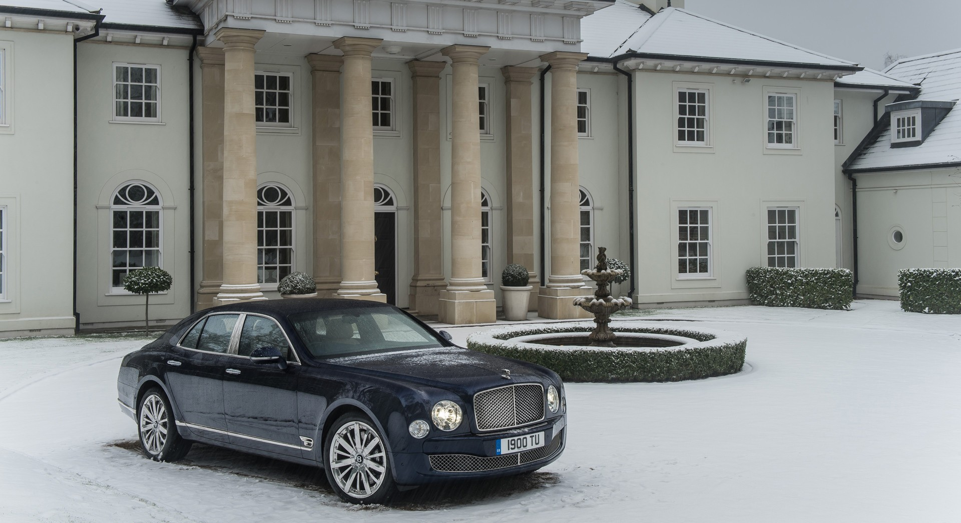 bentley mulsanne desktop