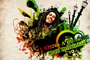 bob marley wallpaper abstract