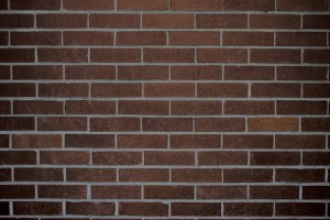 brick wallpaper brown