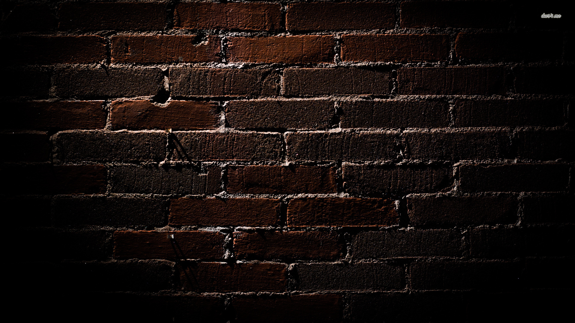 brick wallpaper dark