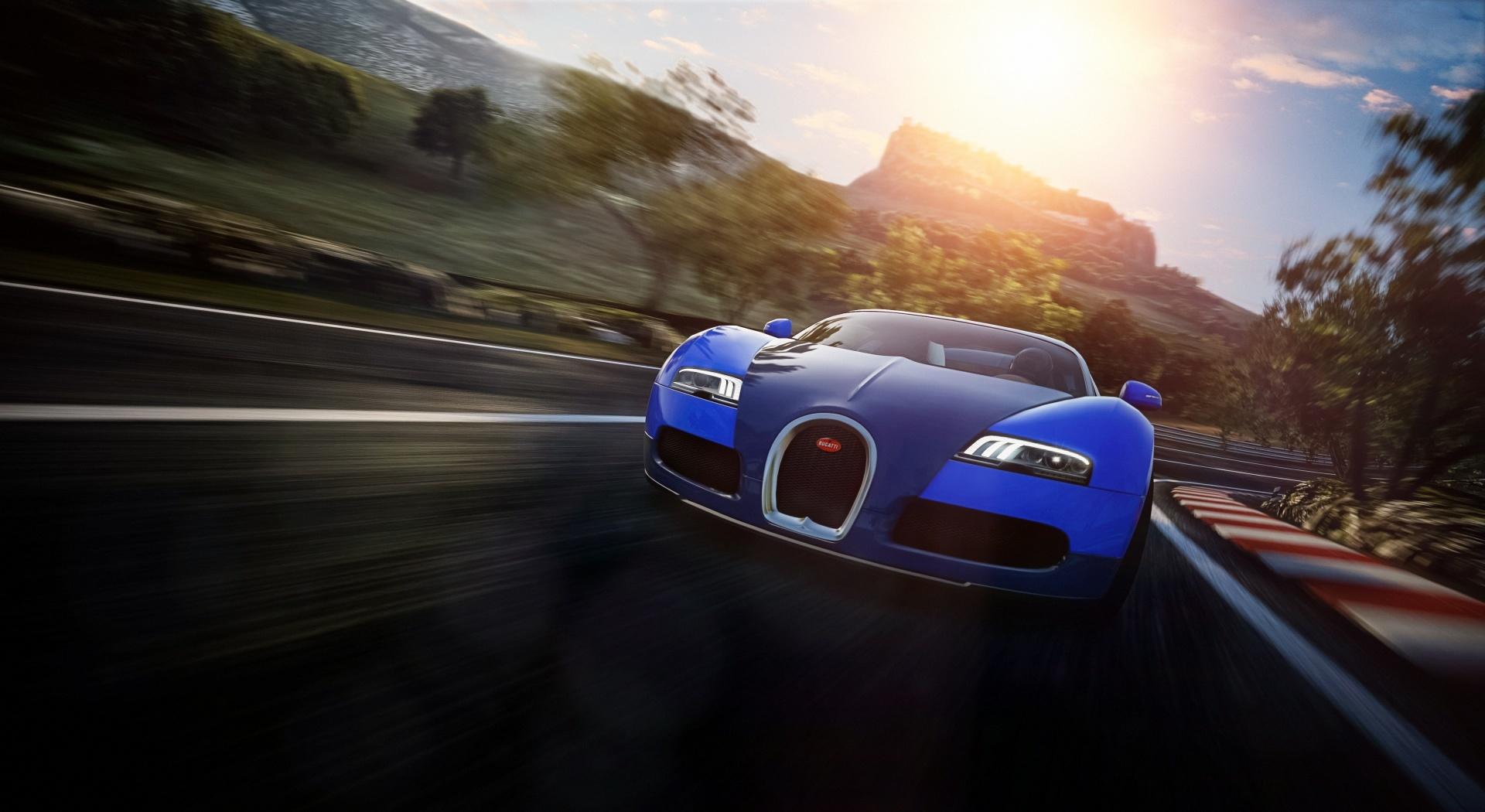 bugatti veyron wallpapers blue hd