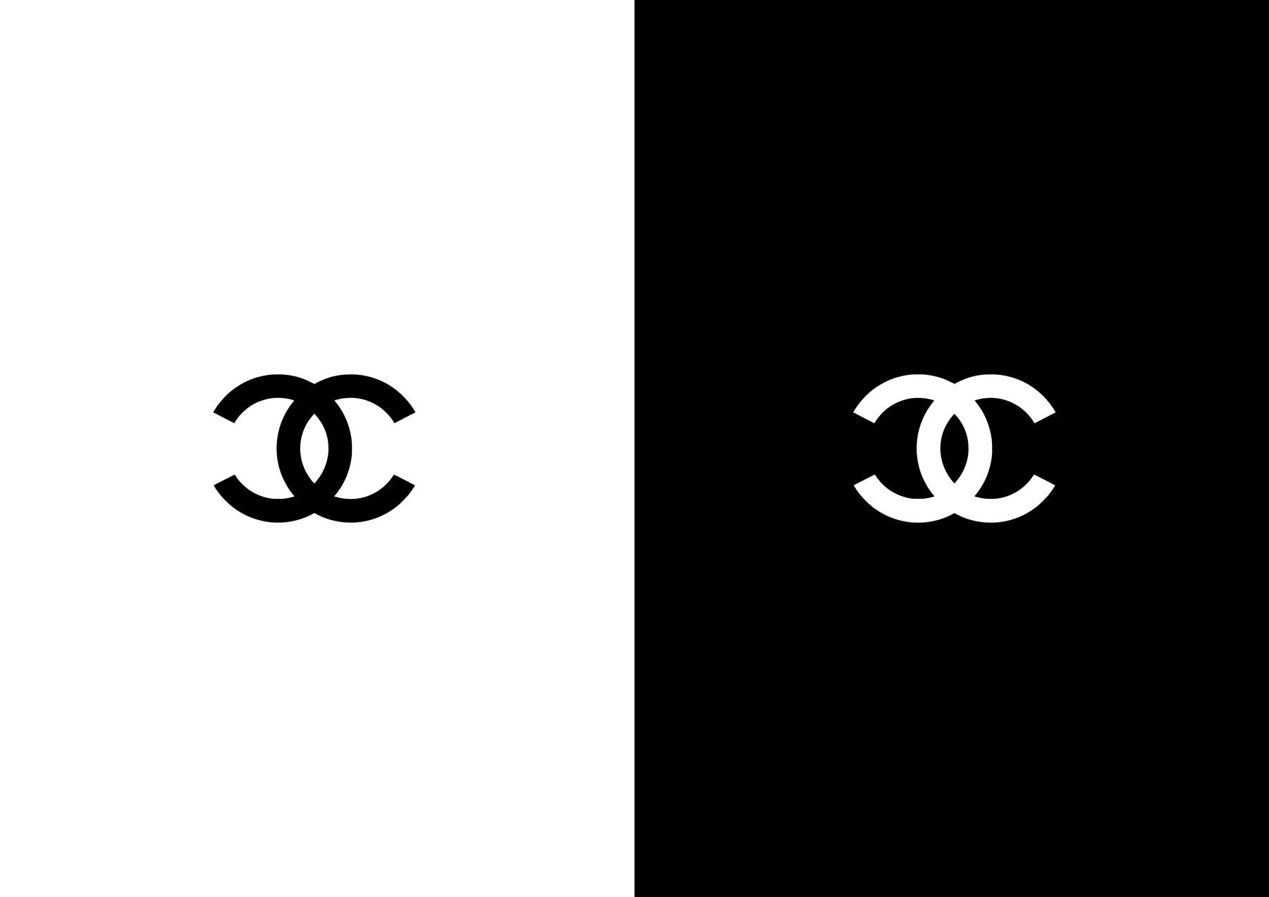 chanel wallpapers black and white