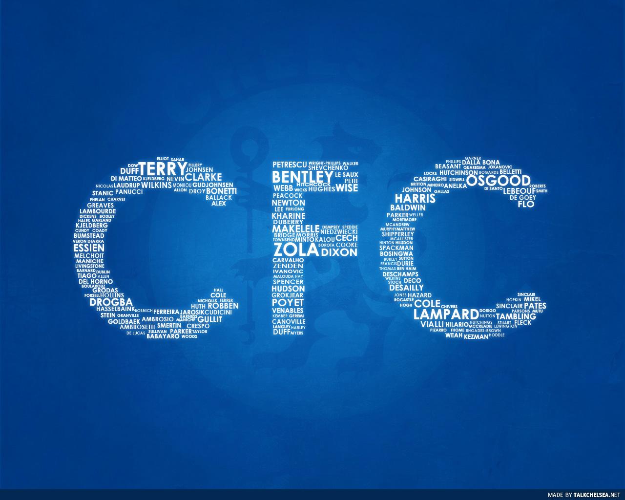 chelsea wallpaper letters