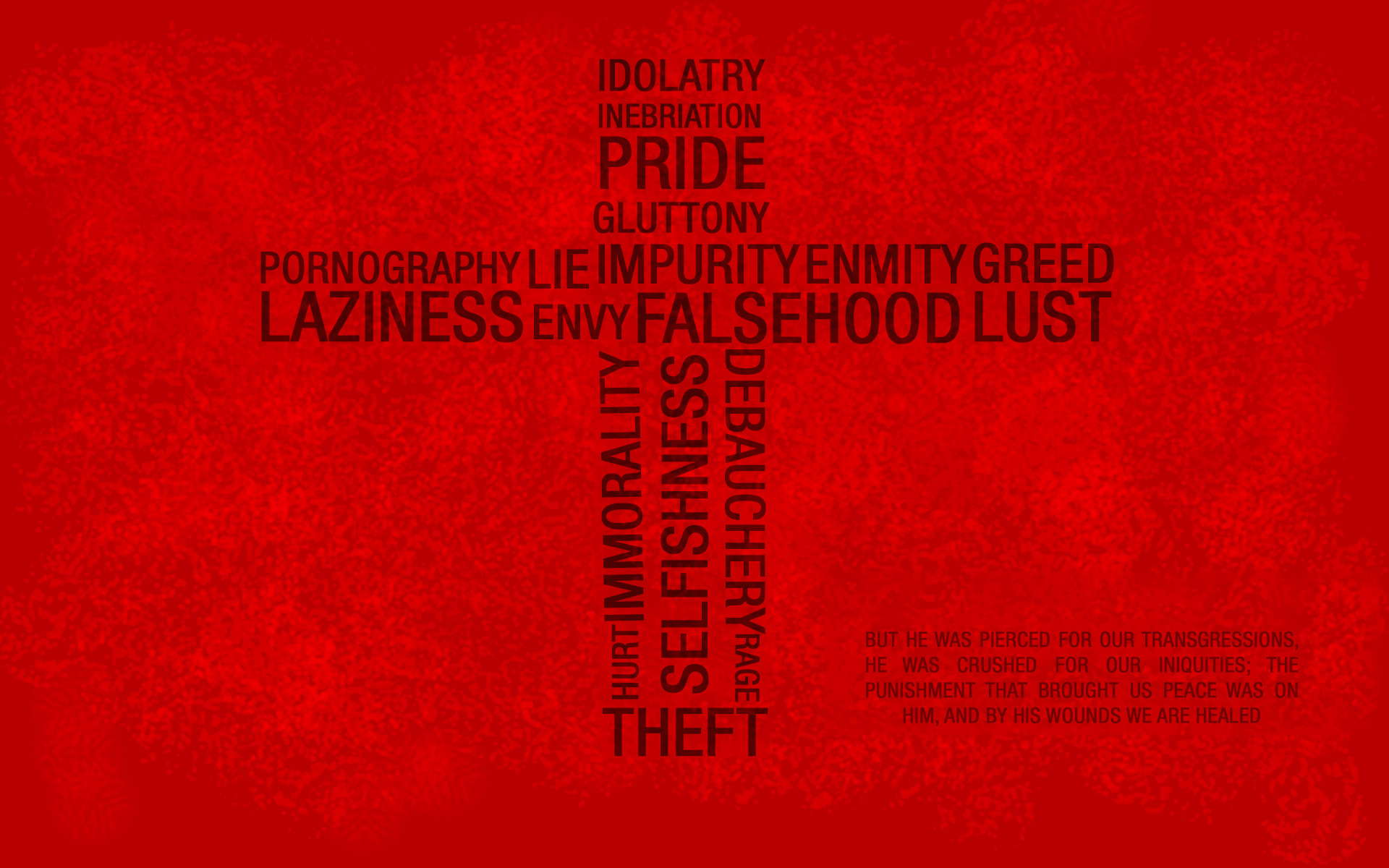 cool christian wallpapers red