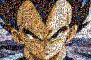 dragon ball z wallpapers abstract