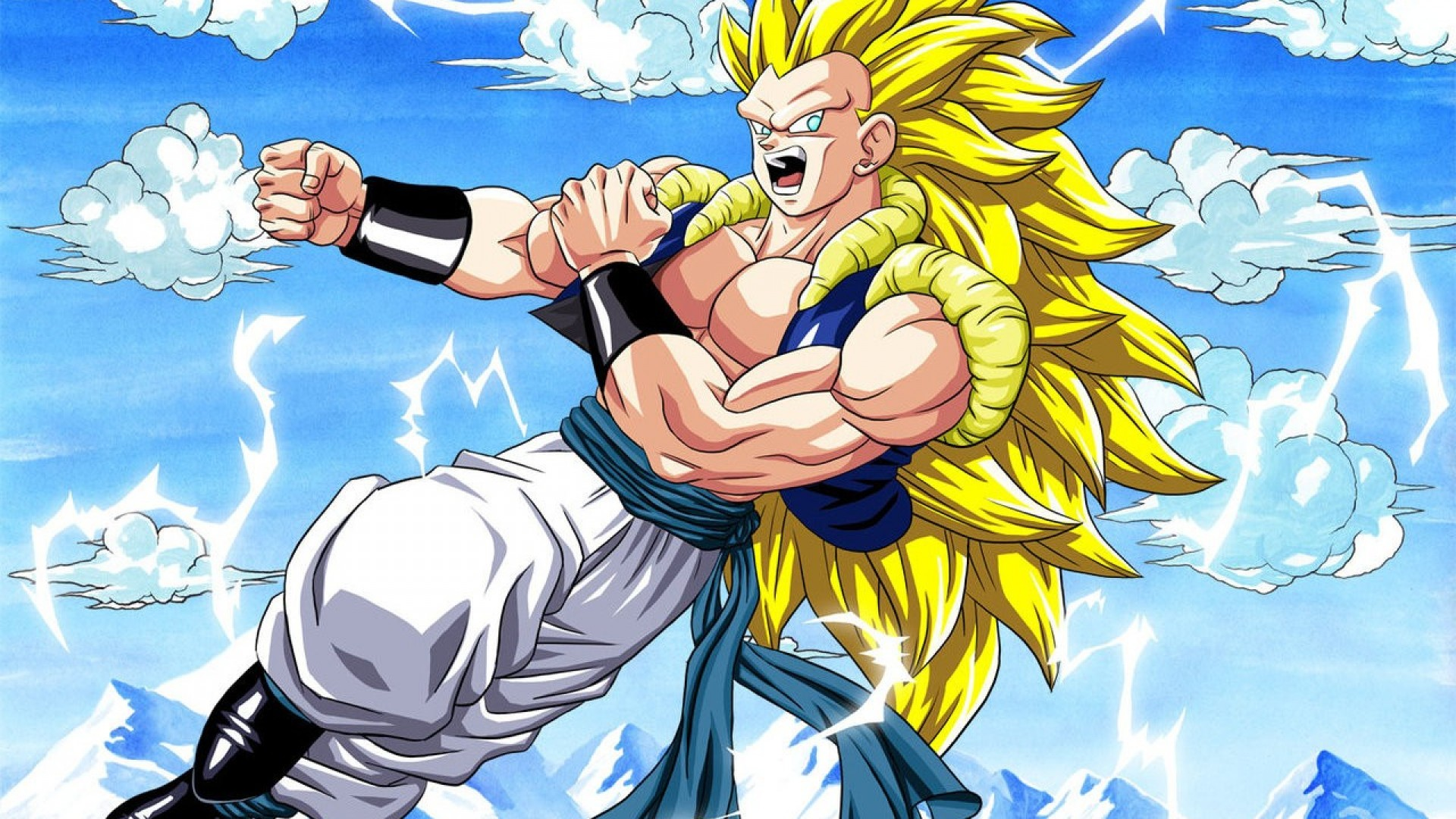 dragon ball z wallpapers clouds