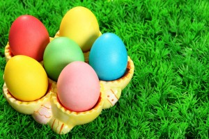 easter pictures eggs colorful
