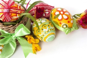 easter pictures eggs exquisite
