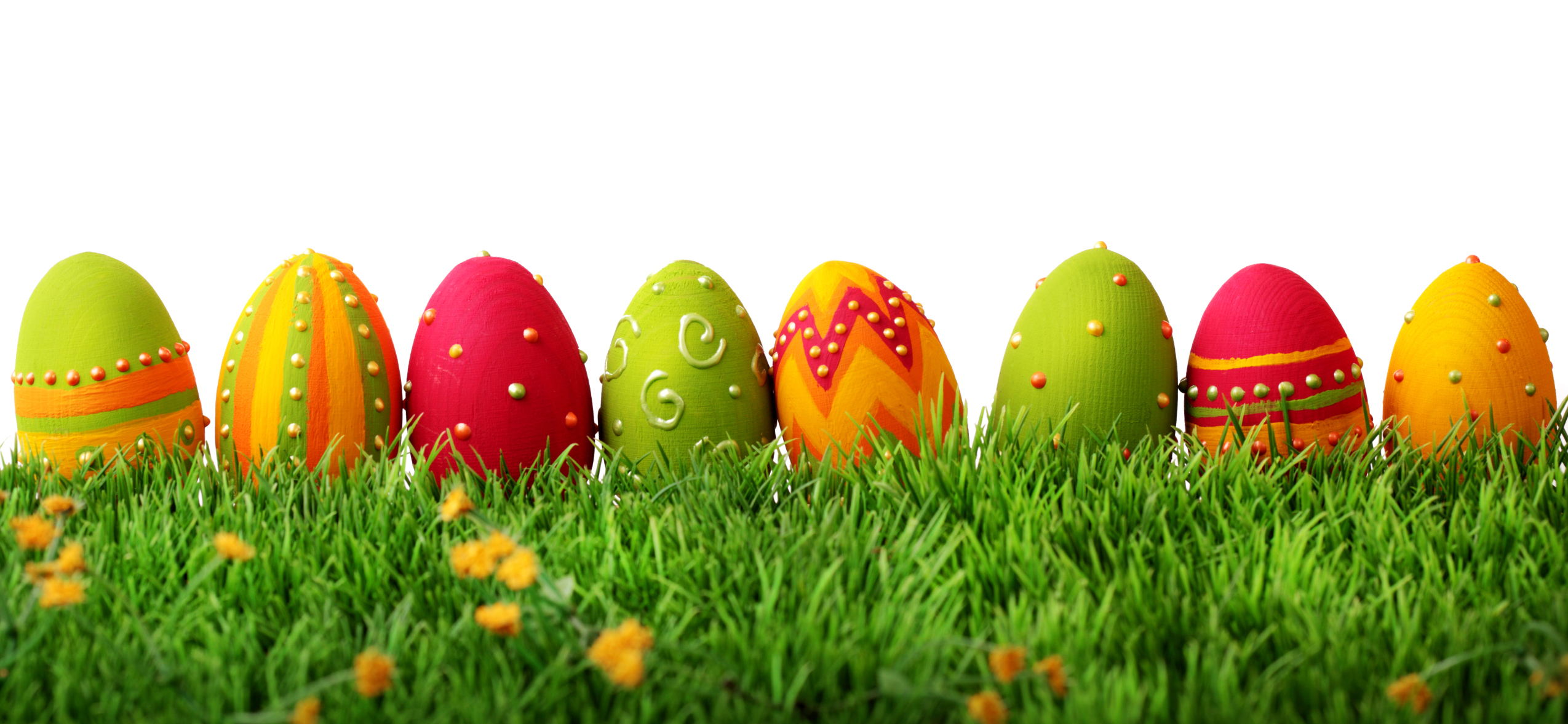 colorful easter eggs aa