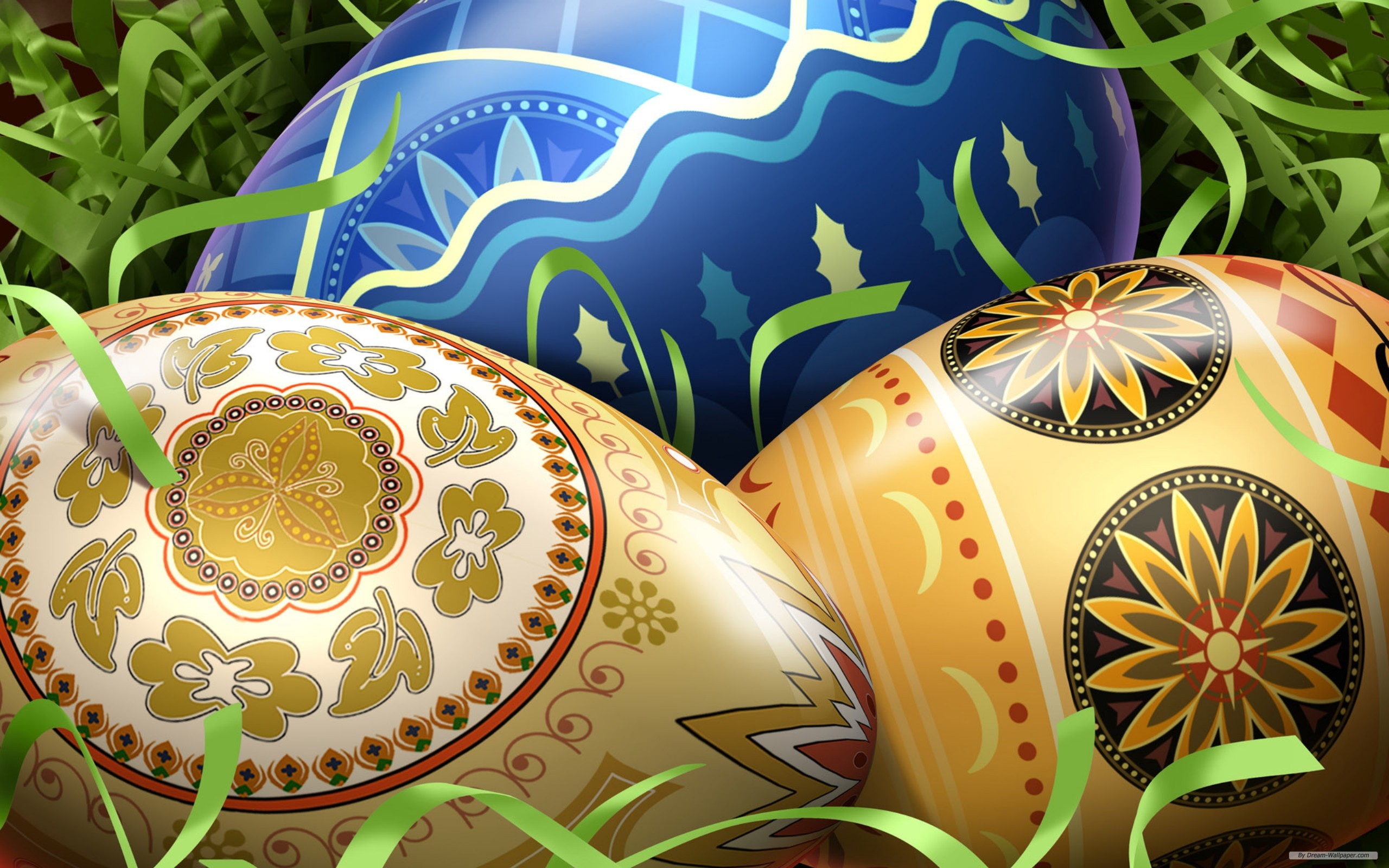 easter wallpapers eggs hd download