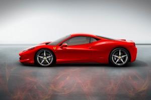 ferrari 458 italia red flame