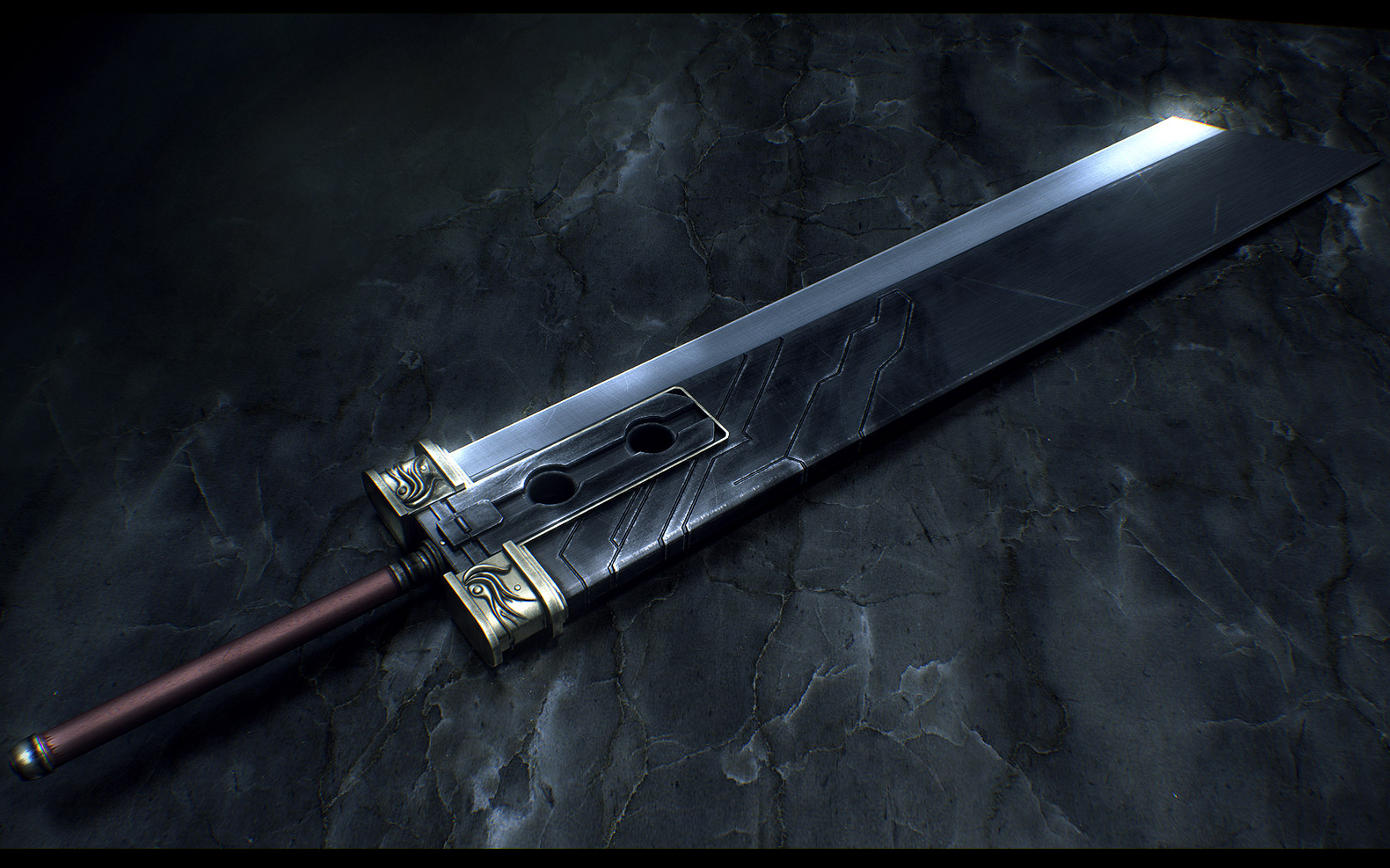 final fantasy wallpaper sword
