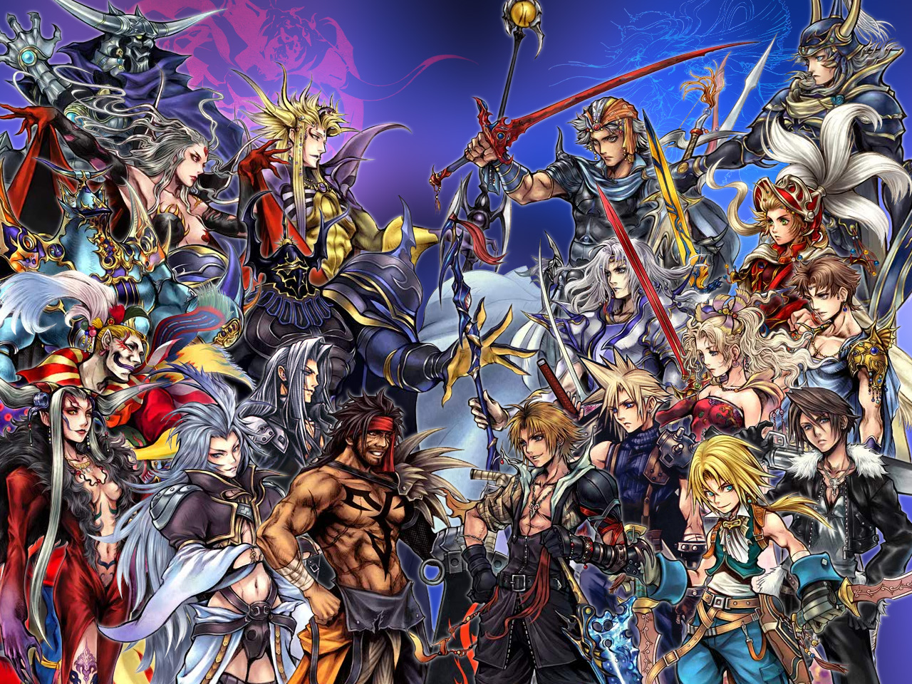 final fantasy wallpaper team