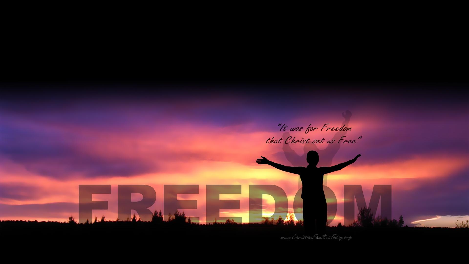 free christian wallpaper freedom