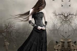 gothic girls wallpaper