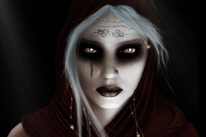 gothic woman wallpaper