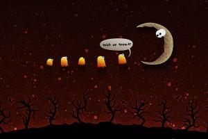 halloween wallpapers moon