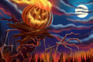 halloween wallpapers scary night