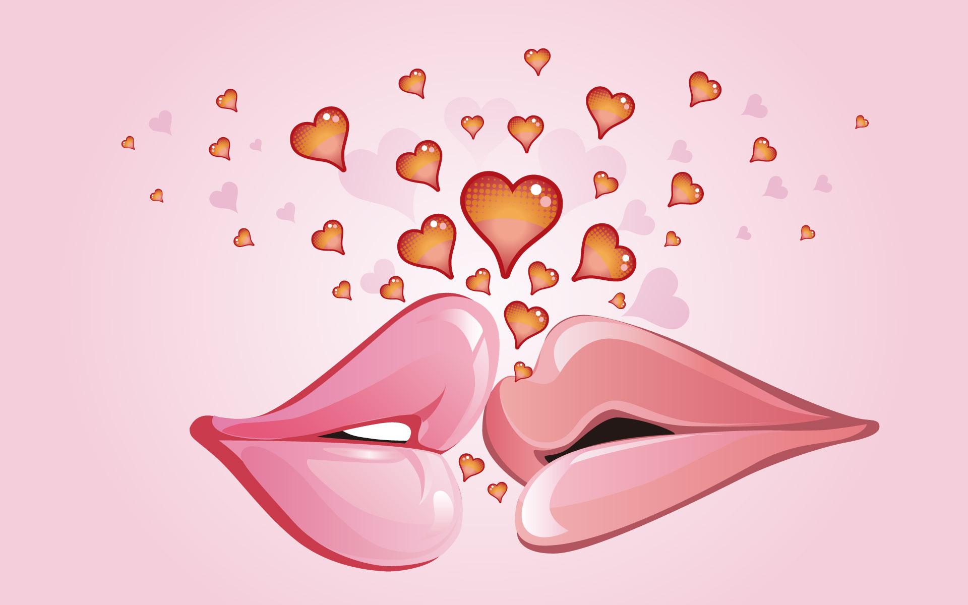 hd wallpapers love kiss