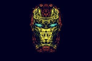 iron man wallpaper abstract