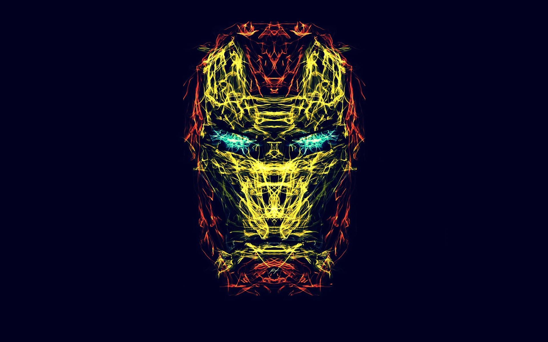 Iron Man Symbol Wallpaper Wallpapersharee Com
