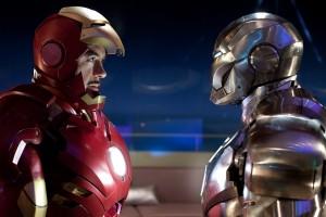 iron man wallpaper face to face